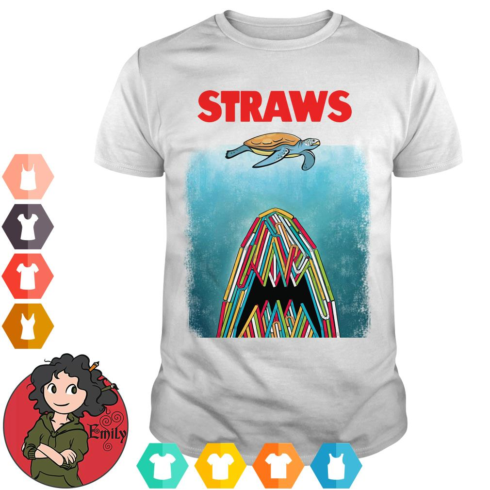 Plastic straws shirt