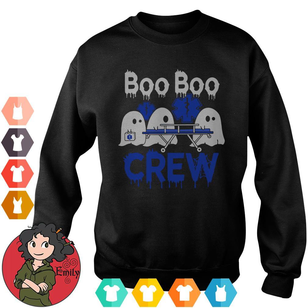 Boo Boo Crew Star Of Life White Halloween Sweater