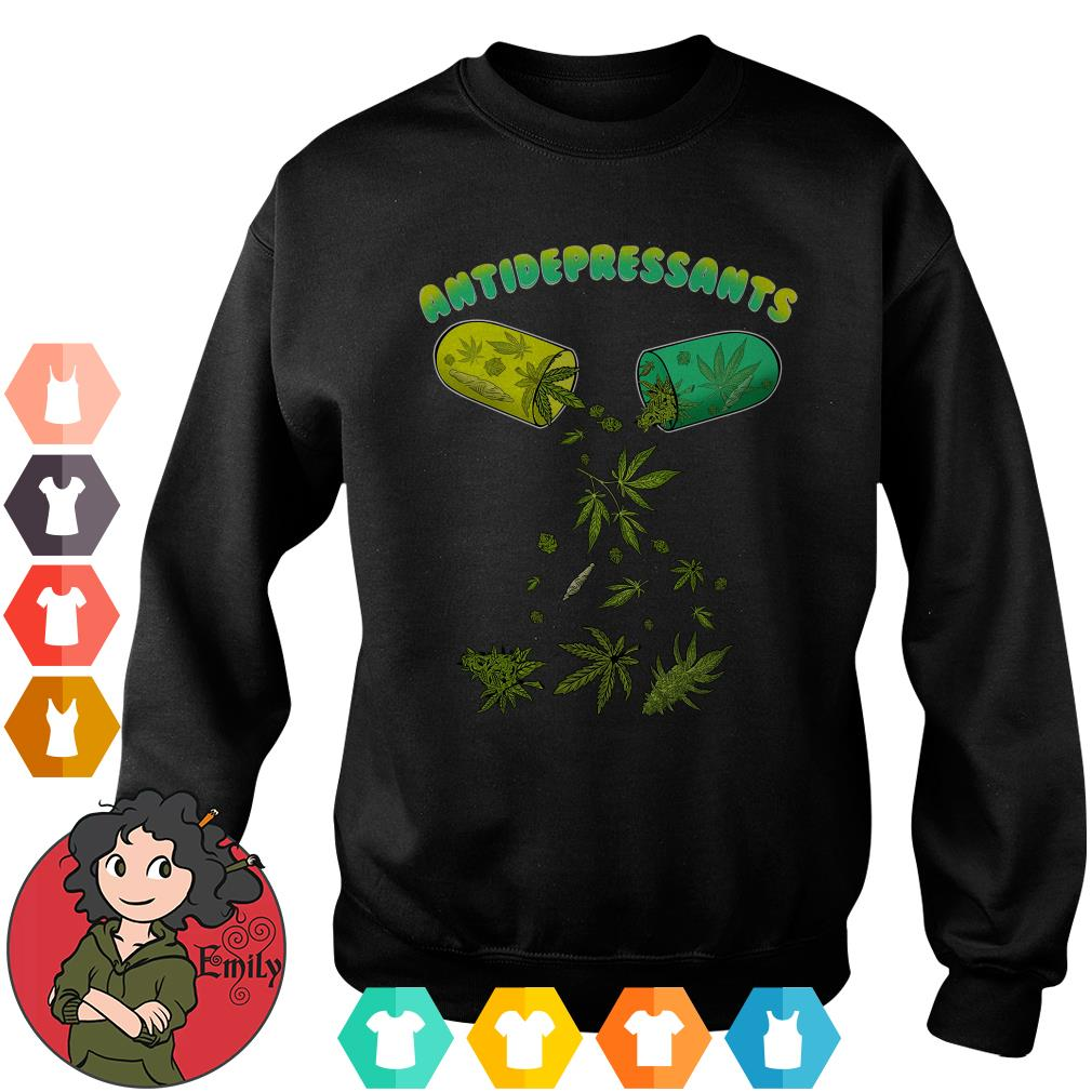 Cannabis weed antidepressants Sweater