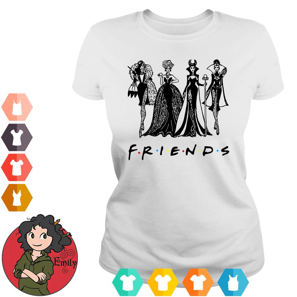 Disney Villains Vogue Friends Ladies tee