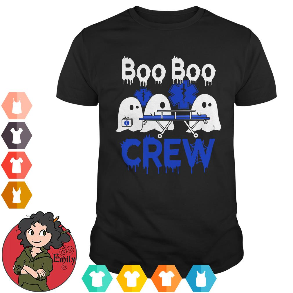 Boo Boo Crew Star Of Life White Halloween shirt