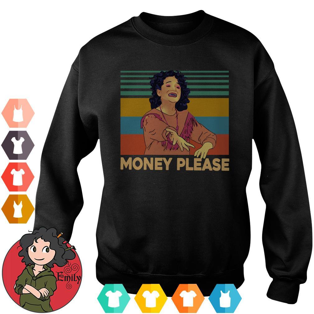 Mona Lisa Jenny Slate money please vintage Sweater